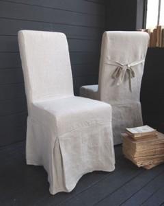 Sedie vestite con tessuti lucchesi ecru for Sedie vestite design
