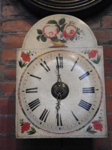 Orologio da muro antico del settecent o vendita on line for Orologio da muro farfalle